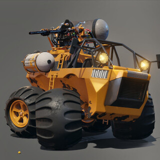 Civil defensive Buggy (WIP)
